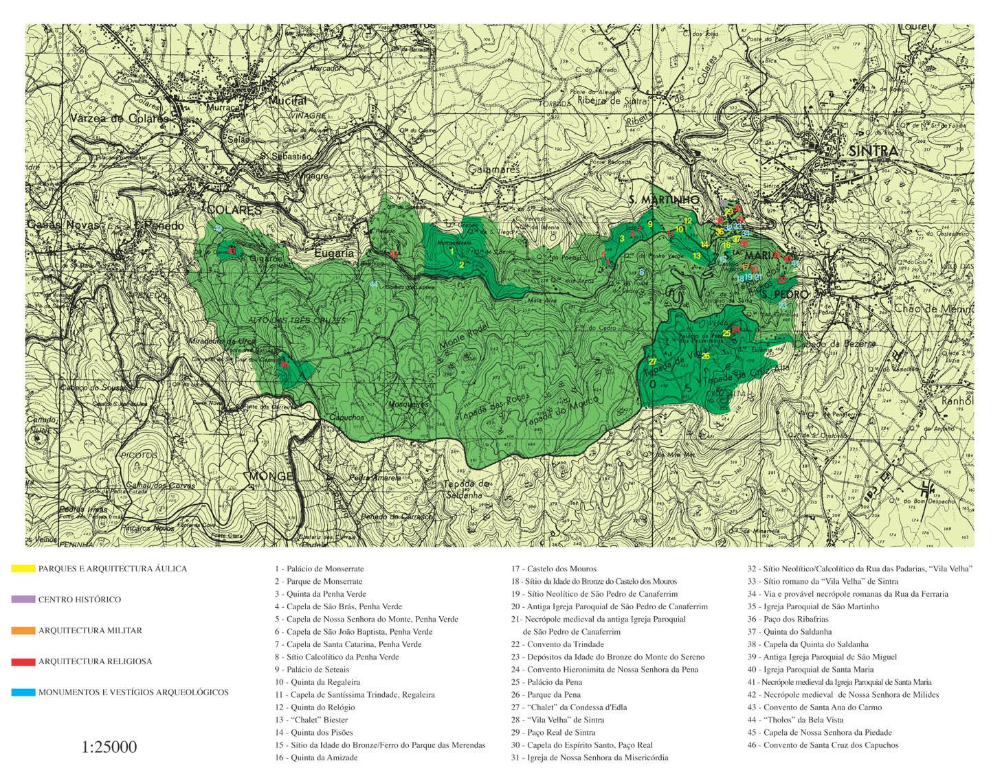 mapa de sintra para imprimir Património Mundial   PATRIMONIO   Câmara Municipal de Sintra mapa de sintra para imprimir